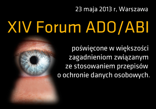 XIV Forum ADO/ABI – Fundacja Bezpieczna Cyberprzestrzeń